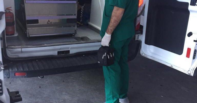 Yaralanan hastanın ameliyatına Ağrı Sağlık Müdürü girdi