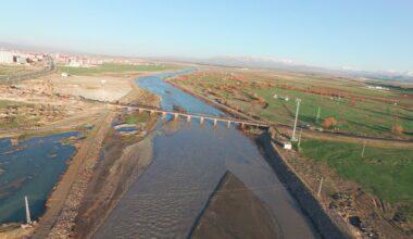 Ağrı'da 3 köy ile 23 bin 170 dekar tarım arazisinin taşkın riski azaltıldı
