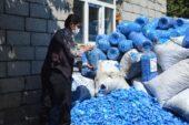 Engelsiz hayat için sokak sokak gezip mavi kapak topluyor