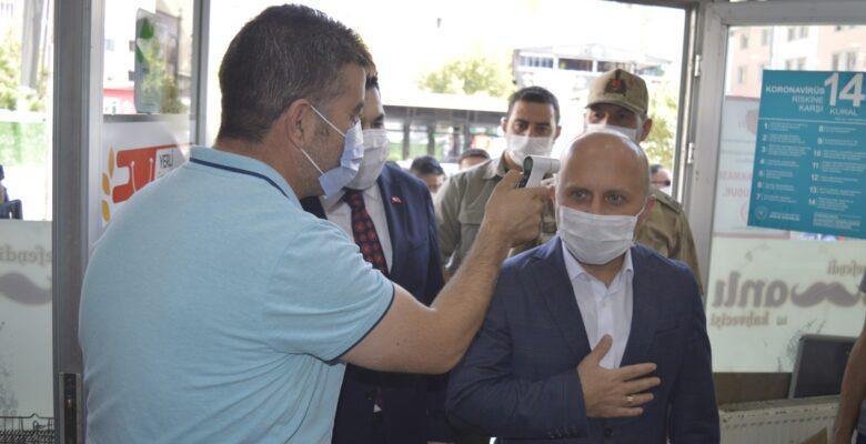 Ağrı'da koronavirüs denetimleri arttırıldı