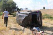 Ağrı'ya düğüne gelen aile kaza yaptı; 7 yaralı