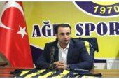 Ağrıspor Başkanı Yıldırım, sitem etti