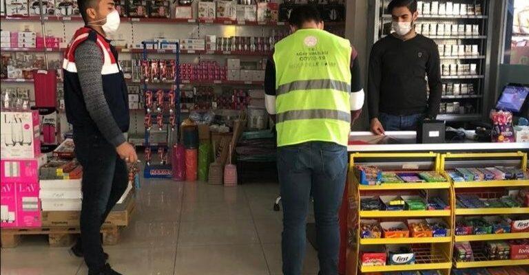 Ağrı'da karantina ihlaline 69 bin 300 lira para cezası kesildi