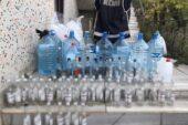 Ağrı'da 160 litre sahte alkol ele geçirildi