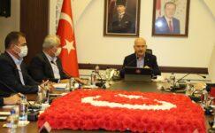 Bakan Soylu Hakkari'de güvenlik toplantısına katıldı
