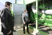 Vali Varol, Çöpten Elektrik Üretecek Katı Atık Dönüşüm ve Enerji Üretim Tesisinde İncelemelerde Bulundu