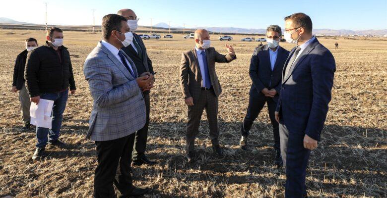 Vali Varol, Gıdakent Projesi Kapsamında Değerlendirilen Alternatif Alanlarda İncelemelerde Bulundu