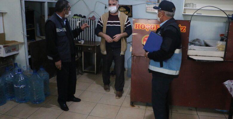 Diyadin'de sigara denetimi yapıldı