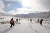 Ağrı Dağı bölgesinde kayıp mülteciyi arama çalışması başlatıldı