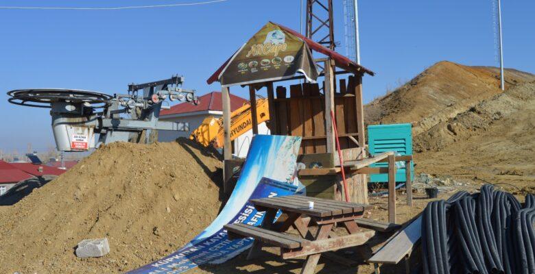 Küpkıran Kayak Merkezi sezona gece kayağıyla başlayacak