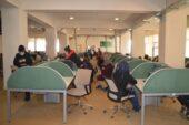 Ağrı'da kurulan çağrı merkezi 460 kişiye ekmek kapısı oldu