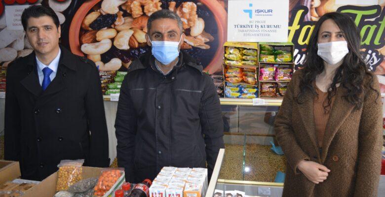 İŞKUR'dan destek alan engelli vatandaş kendi iş yerini açtı