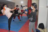 Ağrılı kick boksçular milli sporcu olmak için ter döküyor