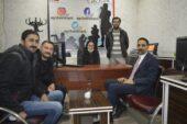 Belediye Başkan Yardımcısı Tunç'tan Ağrı Hakimiyet Gazetesi'ne ziyaret