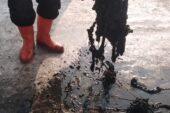 Rögarlardan yüzlerce çorap çıktı