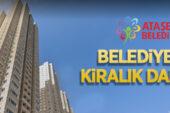 Ataşehir Belediyesi'nden 3 yıllığına kiralık daireler