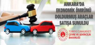 Hisar Emlak Müdürlüğü ekonomik ömrünü doldurmuş araçları satışa çıkardı