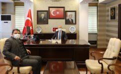 Diyadin Kaymakamı Balcı, Vali Varol'u ziyaret ederek görevine başladı