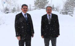 Milletvekili Çelebi, AİÇÜ Rektörü Prof. Dr. Karabulut'u ziyaret etti