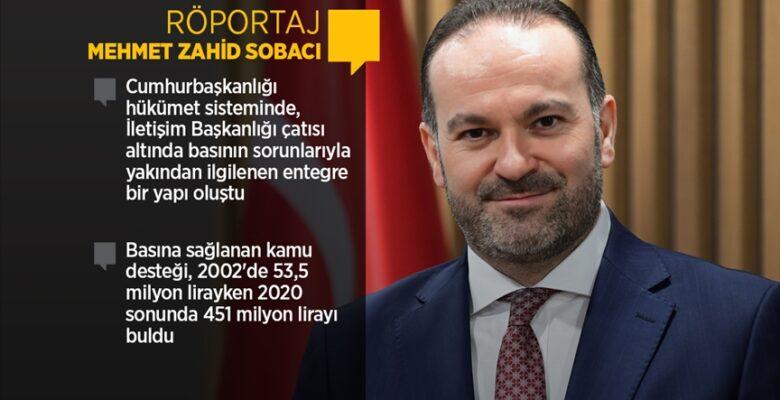 """Prof. Dr. Sobacı: """"Basın Ahlak Esasları'nın ihlaline izin vermeyiz"""""""