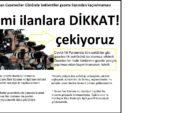 10 Ocak Çalışan Gazeteciler Gününde beklentiler gazete ilanından kaçınılmaması