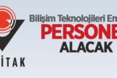 TÜBİTAK Türkiye Bilimsel ve Teknolojik Araştırma Kurumu 6 personel alacak