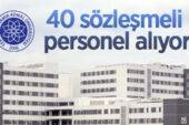 Namık Kemal Üniversitesi 40 sözleşmeli personel alıyor