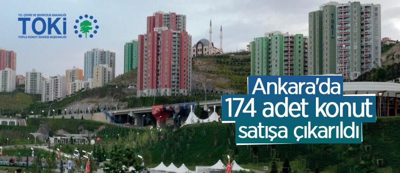 TOKİ, Kuzey Ankara'da 174 adet konut satışa çıkardı