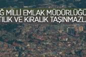 Uludağ Milli Emlak Müdürlüğü'nden satılık ve kiralık 28 taşınmaz