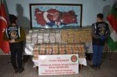 Gürbulak Gümrük Kapısında rekor seviyede, 400 milyonluk 808 kilogram eroin yakalandı
