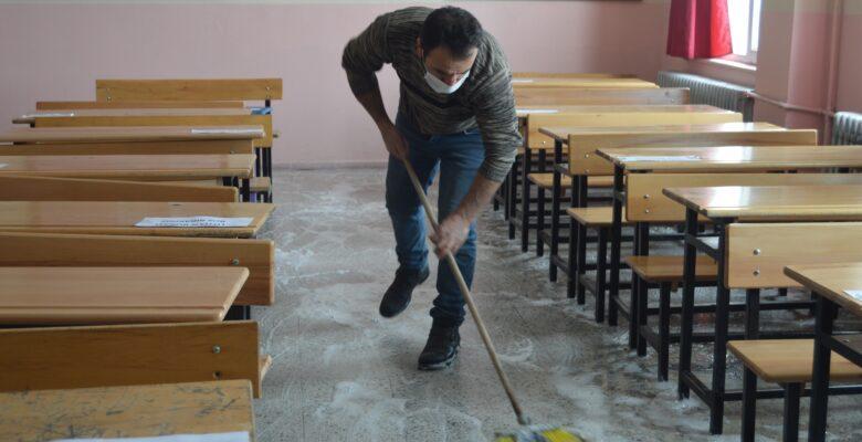 Ağrı'da köy okulları yüz yüze eğitime hazır