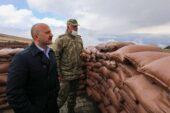Vali Varol Hudut Takım Karakollarını Ziyaret Etti