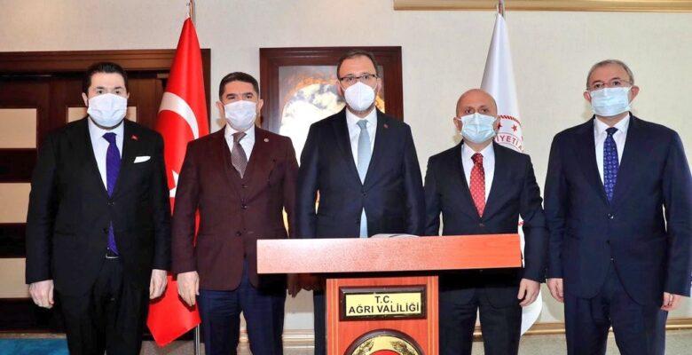 Gençlik ve Spor Bakanı Kasapoğlu Ağrı'ya geldi