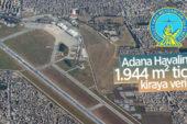 Adana Havalimanı'nda 1.944 m² ticari alan kiraya verilecek