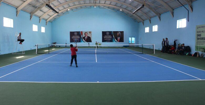 12 Mart İstiklal Marşı'nın Kabulü ve M. Akif Ersoy anma tenis turnuvası