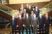 """Ağrı Heyeti, """"Yatırım ve İstihdam"""" için Ankara'da mekik dokudu"""