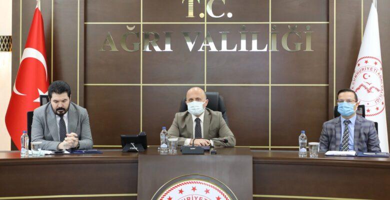 Ağrı'da Gıdakent Projesi Çalışma Grubu Toplantısı Düzenlendi