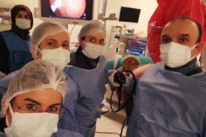 Ağrı'da bir ilk; Endoskopik Retrograd Kolanjio-Pankreatografi (ERCP) işlemi başarıyla yapıldı