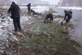 Diyadin'de bahar temizliği erken başladı