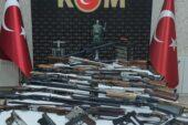 Ağrı'da silah kaçakçılarına operasyon; 16 gözaltı