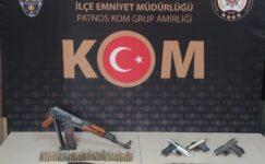 Ağrı'da silah kaçakçılığı operasyonu