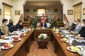 Doğubayazıt'ta Covid-19 Değerlendirme Toplantısı düzenlendi
