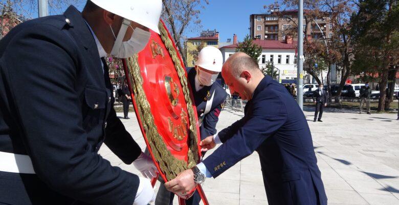 Ağrı'nın düşman işgalinden kurtuluşunun 103. yıl dönümü törenle kutlandı
