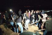 Ağrı'da Murat Nehri'ne düşen 6 yaşındaki İpek toprağa verildi