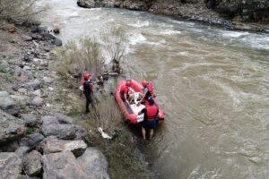 Ağrı'da rafting heyecanı