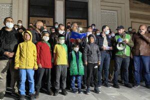 Ağrı'daki STK'lardan İsrail'e tepki