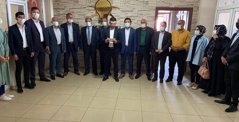 AK Parti İl Başkanlığı 27 Mayıs Darbesi'nin yıldönümü nedeniyle açıklama yaptı