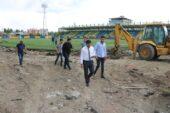 Ağrı Şehir Stadyumunun Tartan Pisti Yenileniyor