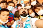 Ağrı-İran sınırında çocukların hayallerini gerçekleştirdiler
