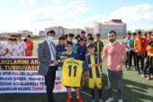 Ağrı GSİM'den Amatör Kulüplere Malzeme Desteği